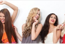 BMU Hair Extensions campaign